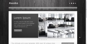 Wordpress sablon